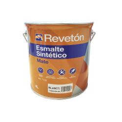 REVETON ESMALTE MATE BLANCO 4 LT