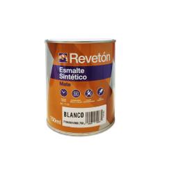 REVETON ESMALTE MATE BLANCO 750 ML