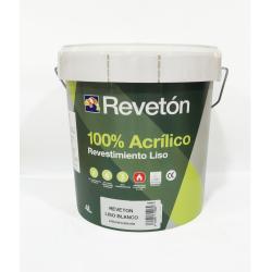 REVETON LISO 100% ACRILICO BASE M 4 LT