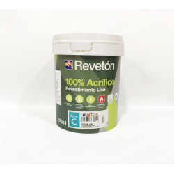 REVETON LISO 100% ACRILICO BASE M 750 ML