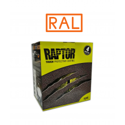 RAPTOR SUPER RESISTENTE 2K KIT RAL 4 LT