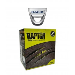 RAPTOR SUPER RESISTENTE 2K KIT DACIA 4 LT
