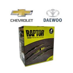 RAPTOR SUPER RESISTENTE 2K KIT CHEVROLET Y DAEWOO 4 LT