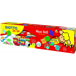 GIOTTO BE-BE MAXI ROLL PINTURA DEDOS