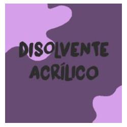 DISOLVENTE ACRILICOS 1 LT