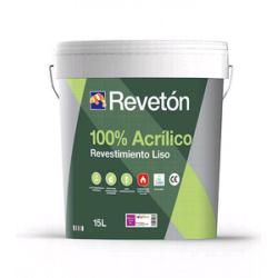 REVETON LISO 100% ACRILICO BASE M 15 LT