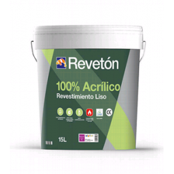 REVETON LISO 100% ACRILICO BASE TR 15 LT