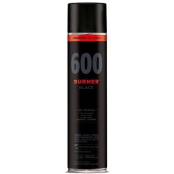 SPRAY MOLOTOW BURNER NEGRO 600 ML
