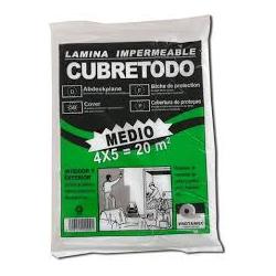 CUBRETODO MEDIO 15 Micras 4x5mts